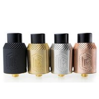 Wholesale New Reload RDA Atomizer Gold Post base Post Peek insulator Reload rda Fit E cig Mechanical Vape Mods DHL free