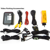 Wholesale Car Parking Sensor Backup Reverse Radar Alert Display Rear View Image Distance Via Car Monitor With Buzzer