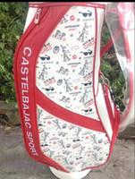 Wholesale NEW golf ball bag pu golf bag woman s golf clubs bag