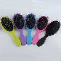 Wholesale 2016 Hair Brush Combs Magic Detangling Handle Tangle Shower Hair Brush Comb message combs Salon Styling Tamer Tool