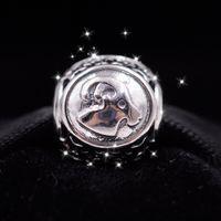 aquarius beads - New Woman jewelry S925 Silver Twelve constellations silver charm beads Fit European Pandora Bracelets Necklaces Pendant Aquarius Pisces