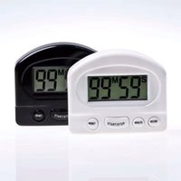 Wholesale Hot Kitchen Cooking Minute Digital LCD Alarm Clock Medication Sport Countdown Calculator timers with Clip Pad XL