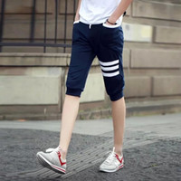 Wholesale Summer men s pants in the thin section of sports pants convergent leisure plus size minutes of pants