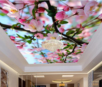 Wholesale Customized d ceiling wallpaper for bedroom Squid d ceiling living room wallpaper for ceilings