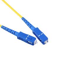 Wholesale 10 batch SC SC single core optical fiber cable jumper meters of optical fiber connection tool pigtail SC