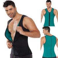 Wholesale New mens Slimming Vest Neoprene Body Shaper Men Slimming Belt Corset Posture Waist Trainer Slim Corsets Shapers