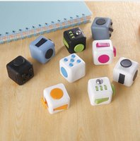 Wholesale Science Sale - 2017 New Hot Sale 11 Color Fidget Cube The World's First American Original Decompression Anxiety Toys Free Shipping
