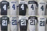Rugby Unisex Short All Stitched 2017 Men 21 Ezekiel Elliott Jersey 4 Dak Prescott Jersey Color Rush White Blue Thanksgiving Woman Women Youth Kids