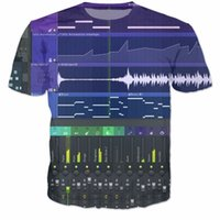 O-Neck ableton live - Women FL Studio Massive T Shirt Xfer Serum All Over D Print Casual t shirt Women Summer Ableton Live Samples tees Clothing