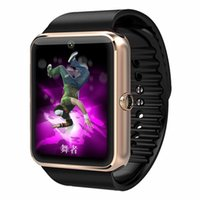 best connectivity quality - Best Quality Smart Watch GT08 Clock With Sim Card Slot Push Message Bluetooth Connectivity Android Phone Better Than DZ09 Smartwatch MD3