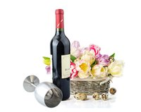 Wholesale Stainless Steel Red Wine Cup ML Goblet Flask Wine Pot Accessory Single Cup Stemware Bar Tools Restaurant Anti Broken Party Drink Cup F189