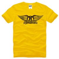aerosmith t shirts men - New Summer Style Aerosmith T Shirts Men Cotton Short SleeveRock Band Men s T Shirt Fashion Male Rock and Roll Oversized T Shirt