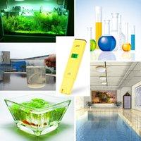 Plumbing aqua salt - Pen Temperature Compensation ATC LCD Acid Aquarium Water Quality Salt Pool Tester Aqua Medidor de PH Meter Acidometer Analyzer