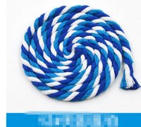 Wholesale 014 Sewing accessories MM colorful cotton rope drawstring pants pocket DIY hand woven cotton rope Pocket Cap