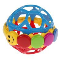 abs activities - Baby Play Ball Plastic ABS Baby Bendy Ball Toddlers Fun Multicolor Activity Educational Toys Baby Intelligence Development Toy