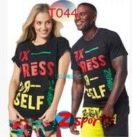 al por mayor men s expreso-Mujer / hombre unisex Camiseta Exprese usted mismo camiseta Mujeres manga camiseta Envío gratuito