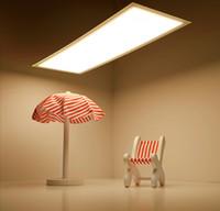 Письменный стол панель Цены-Органические светодиодные лампы 4W Ultra Thin Flexible Прямоугольные чип-панели Даунлайты Настольные светильники для гостиной Спальня Гостиная Декоративный свет