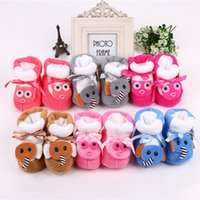 Wholesale Hug Me Baby Girls Boys First Walker Shoes Christmas Bow Baby Moccasins New Soft Bottom Shoes EC