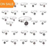26 lettre Initial Alex et Ani réglables bracelets Charm or argent Bracelets de câblage poignets bandes pour femmes Bijoux 160345