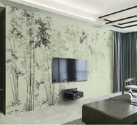 bamboo wallpaper walls - Photo Customize size bamboo d wallpapers mural d wallpaper d wall papers for tv backdrop