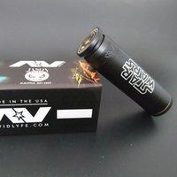 18650 av star - AV Able Mod Star Wars Brass Material Mechanical Mod AV Style E Cigarette fit battery Atomizers Star Wars DHL Free