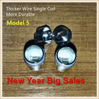 Quartz Dual Wax Coil globo globo atomizador Dry Herb Vaporizer doble cerámica Rod bobinas de cabeza para E-Cigarrillo de metal de vidrio de cera bulbo globo atomizador