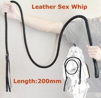 Halloween adult female halloween costumes - 200cm Long Leather Sex Spanking Whip Adult male female slave queen costume roleplay game flirt fetish toys for women men couples