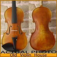 Maple antique violin case - Copy of Stradivarius Cremonese Violin Antique varnish Free violin case bow and rosin No