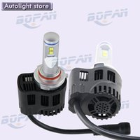 al por mayor faro 55w-Super brillante 55W 5200LM potente 9012 Hir2 LED HeadLight kits 4300k bombilla coche 9012 LED faro