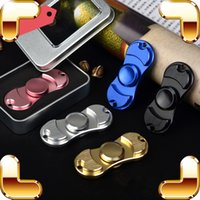 idée drôle achat en gros de-Hotsale Gift Idea Toy Alliage Finger Spinner Funny Game Hand Roter Décompression Spin Toys Relief Metal Tiny Adult Stable Balance Present