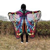 Wholesale new chiffon butterfly prints shawl beach towel beach mat shawl for women scarf shawl remrk