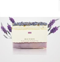 Wholesale Lavender Handmade Soap For Cleaning Face And Keep The Skin Soft Smooth And Fresh For Unisex