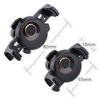 Auto Clip Car Air Vent Mechanical Support de téléphone mobile 360 ​​Support de montage réglable rotatif Single Hand pour Samsung GPS iPhone