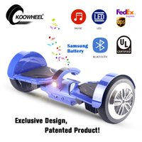 Wholesale KOOWHEEL Hoverboard Bluetooth inch Smart Balancing Scooters LED Hover Board Electric Two Wheel Standing Scooter Wheel Scooter
