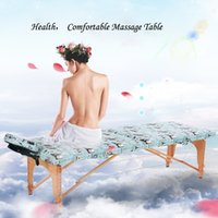 armrest table - New Arrival Color Massage Tabel Folding Salon Table Folding Massage Bed within Face Pillow and Side Armrest Extension