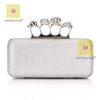 al por mayor poliéster de cristal de diamante-Las mujeres de poliéster de cristal de diamantes embrague Día Bolsa Fce eminina de bolso Elegante y GraDay partido de bodas de las señoras bolso de noche XA765D
