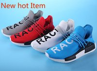 Wholesale Original Pharrell Williams X NMD Human Race HU Running Shoes NMD Runner NMD men and women Trainers casual Sneakers Boots Size for sale