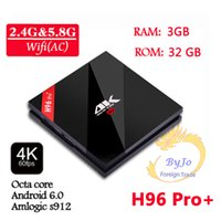 android flashing - H96 Pro G DDR3 option G Flash G GHz Wifi HD2 K Amlogic S912 Octa Core Android BT4 KODI smart android tv box