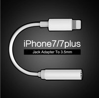 audio wire connector - Apple Iphone Earphone Headphone Converter Adapter iPhone Plus AUX Connector Headset Cable for Lightning IOS to Female mm Jack Audio
