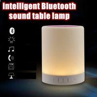 Wholesale Creative led Touch Sensing Emotional night light Portable wireless Bluetooth audio