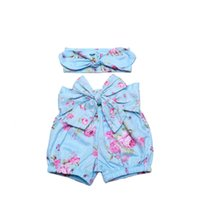 baby girl products - New Product Kids Pom Pom Summer Toddler fashion Shorts Baby Floral Baby Shorts With Headband Set