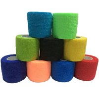 aid tape - Waterproof Elastic Self Adhesive Medical Bandage Gauze Tape Nonwoven Cohesive First Aid Kit for Sport Ankle Finger Muscle Care bandage