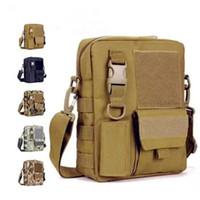 Wholesale Men s Messenger Bags Fishing Military Equipment Sport Crossbody Tactical Bag Satchel Military Bag MOLLE System Single Shoulder