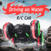 Wholesale New RC Stunt car Remote Control Cars Toy Model Drving on Water Electric Toys Children gifts