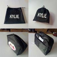Wholesale Kylie makeup Bags Kylie cosmetic bag kylie bag Birthday Bundle Bronze Kyliner Copper Creme Shadow Makeup Bag HIGH copy canvas kylie bag