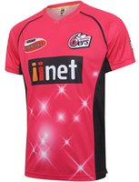 Wholesale 2016 Sydney Sixers cricket Jerseys ers Jerseys top quality men s shirts