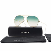 aviator design - Dokly spitfire poolside fashion glasses women men Mirror aviator Sunglasses Women Brand Design Sun Glasses Oculos de sol Eyewear