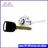 auto door lock cylinder - Auto Door Lock Cylinder for Honda CRV left door lock cylinder car Locksmith Practice Supplies Set Lock Picks Tools
