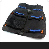 adjustable vest - 54 cm colete tatico Outdoor Tactical Adjustable Vest Kit For Nerf N strike Elite Games Hunting vest Promotion