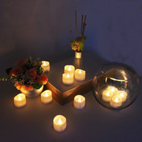 battery votive lights - Christmas Lights Led Votive Candles Battery operated Flicker Flameless LED Tea Candles Light Wedding Birthday Party Decoration Lead Light